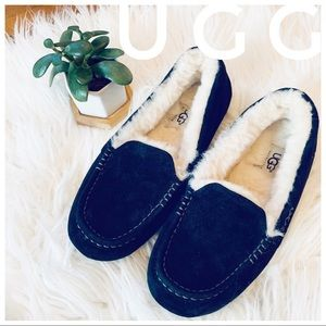 UGG suede leather slippers Ansley